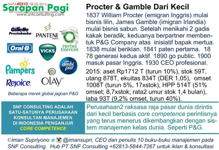 procter gamble core competence P&g is the world's largest and most profitable consumer products company, with nearly $84 billion in sales and 25 billion-dollar brands.